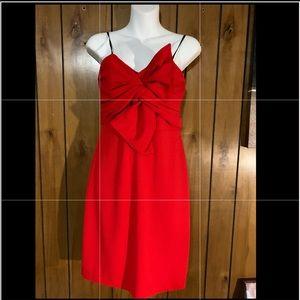B. Darlin Red Strapless Dress. Jr Sz: 9/10